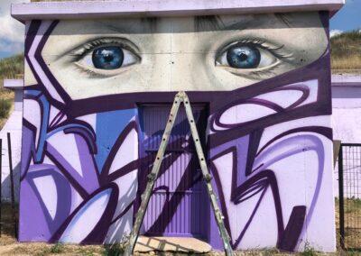 mural dos miradas
