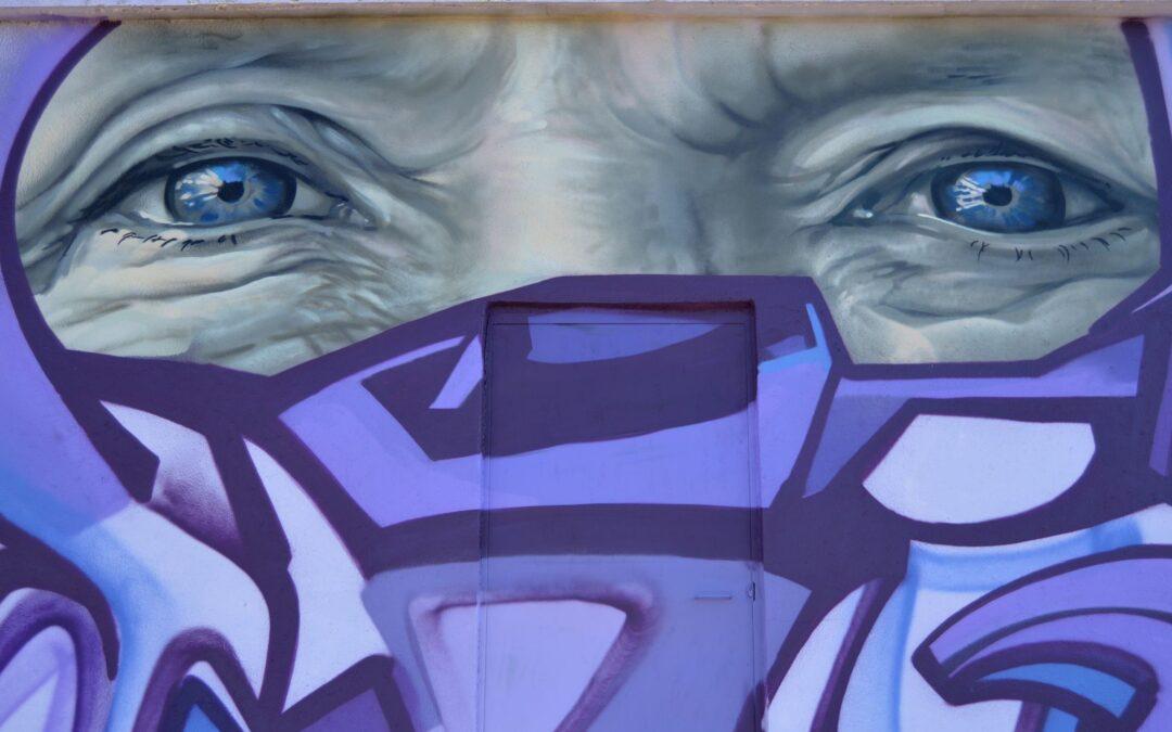 Mural 'DOS MIRADAS'